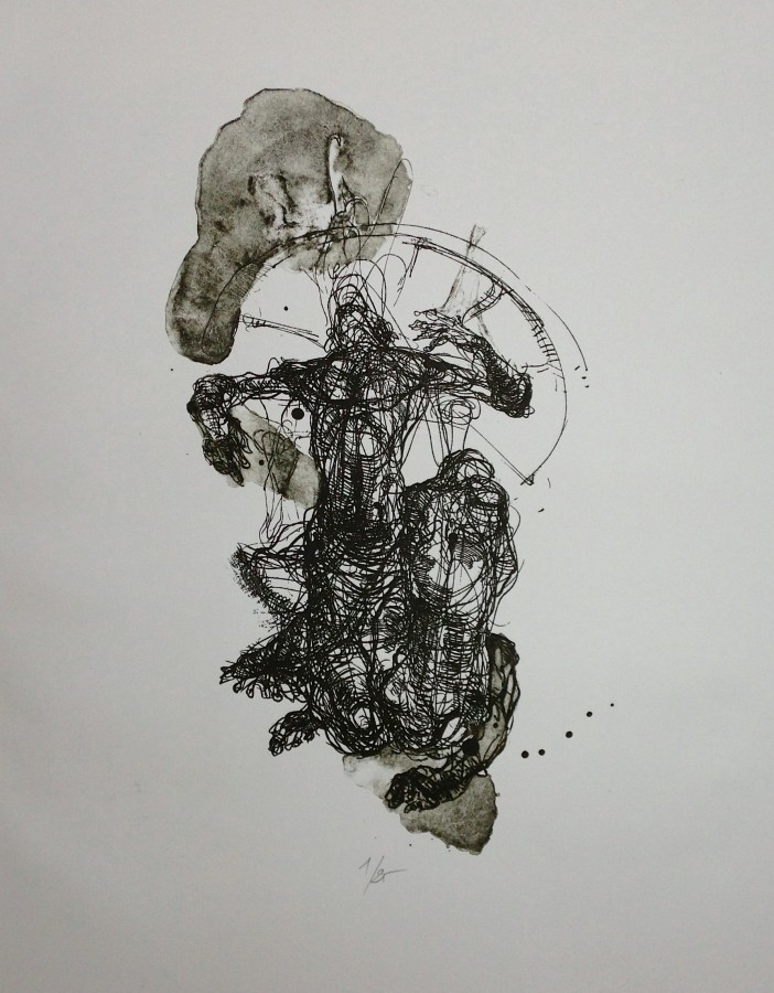 The Pilgrim VII - lithography
